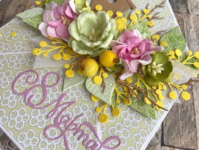 """Мне кажется, что уже каждая мастерица делала """"цветочные конвертики"""", а я в отстающих:)  Продолжаю показывать содержимое заказа. фото 10"""