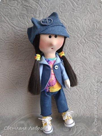 Здравствуйте жители Страны! Я опять к вам с кукляхой, люблю я их и не могу ничего поделать...на этот раз - Лера.... фото 1
