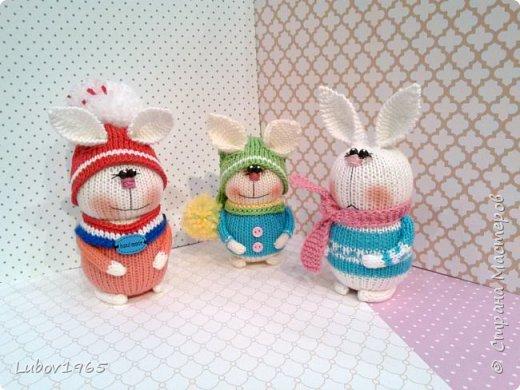 Амигуруми.Заяц спицами. Игрушки для детей.Коллекция. фото 1