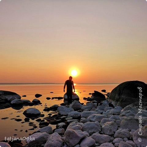 Хочется поделиться очередной порцией фотографий ,,,вчерашняя прогулка по морю,,,И этот фоторепортаж о том, каким выглядим пляж Балтийского моря,,в одном месте он может быть песчаным ,а в другом прямо утопает в булыжниках,,, фото 12