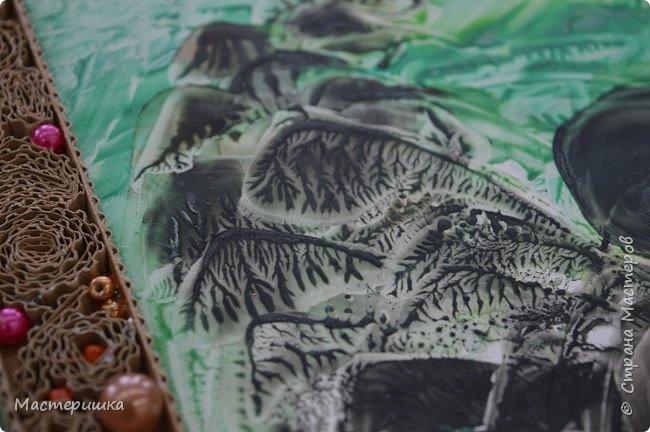 """Всем доброго дня! Сегодня я показываю работы ребят из моего кружка, выполненные к областному конкурсу  """"Произведения уральских писателей в в декоративно - прикладном и изобразительном творчестве"""". Это работа Гашевой Алёны (4 класс)  «Поиграем в поясок».  Номинация - Уральское устное народное творчество. фото 16"""