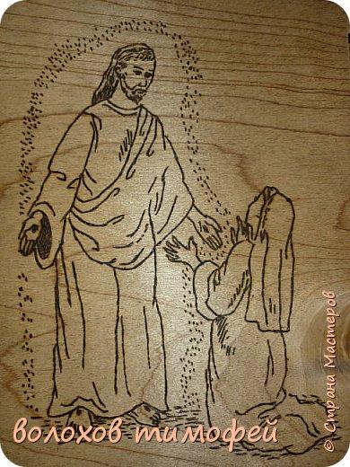 Добрый день дорогие друзья мастера давно я ничего не выкладывал, сделались у меня вот такие картины к пасхе, ну вот только не успел выложить, то уроков полно, то впр сдавал   Иисус Христос к нам спустился с небес   фото 2