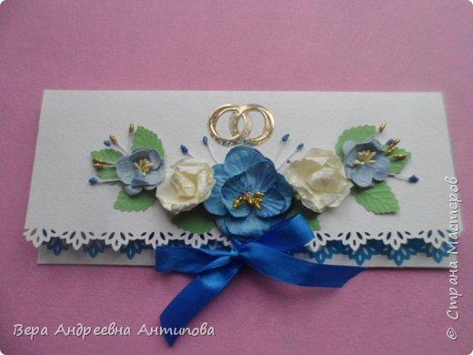 Всем доброго дня! Подруга моей младшей дочки недавно вышла замуж, дочка попросила сделать ей в подарок пару лебедей и конверт-открытку. Вот что у меня получилось.   фото 3