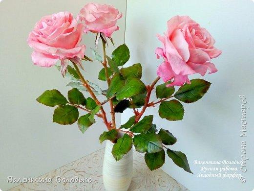 Добрый день мастера и мастерицы!!!Очередная попытка отразить в глине трепетную красоту роз!!!
