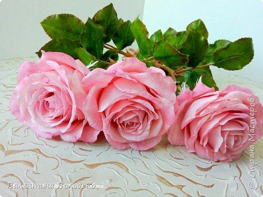 Добрый день мастера и мастерицы!!!Очередная попытка отразить в глине трепетную красоту роз!!! фото 2