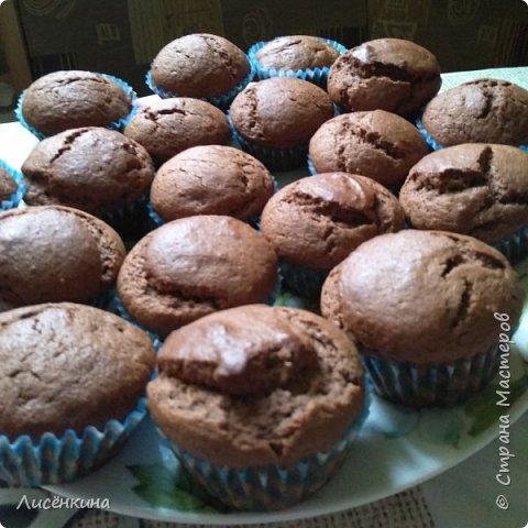 Добрый день дорогие мастера и мастерицы. Сегодня покажу вам как приготовить шоколадные капкейки с шоколадным кремом. фото 5