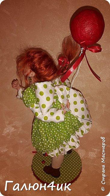 Всем жителям доброго дня!!! Я к вам со своим новым увлечением....это куклы из запекаемого пластика... фото 4