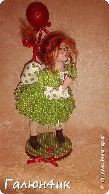 Всем жителям доброго дня!!! Я к вам со своим новым увлечением....это куклы из запекаемого пластика... фото 3