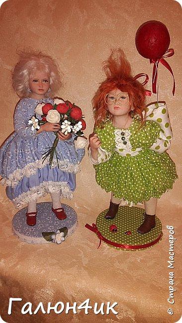 Всем жителям доброго дня!!! Я к вам со своим новым увлечением....это куклы из запекаемого пластика... фото 1
