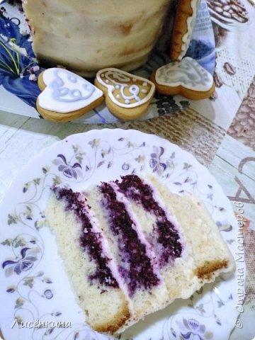 Сегодня крестины нашего сыночка Ильи. Я испекла вот такой вот тортик. Он очень вкусный и по моему красивый.  Хочу поделиться секретами приготовления такого тортика. фото 4