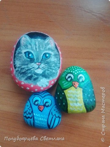 рисунки на камнях фото 13