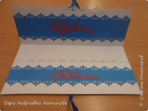 Всем добрый день! В начале июня моей коллеге было 55 лет, смастерила ей в подарок вот такую открытку конвертик в любимых ее цветах. фото 2