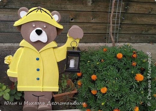 Тучи, гром, а может солнце,  Вижу я тебя в оконце! Светишь ночью фонарем, Жёлтый плащ прекрасен днём!  ------ ❤️ Милое творение моего мужа сегодня украсило наш двор! ❤️  фото 3