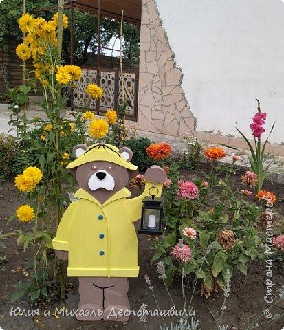 Тучи, гром, а может солнце,  Вижу я тебя в оконце! Светишь ночью фонарем, Жёлтый плащ прекрасен днём!  ------ ❤️ Милое творение моего мужа сегодня украсило наш двор! ❤️  фото 1
