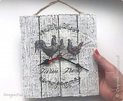 Настенные часы из картона своими руками