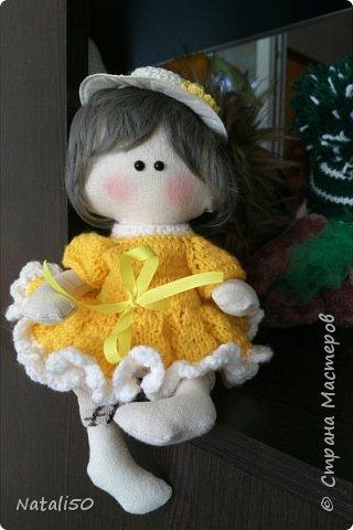 Доброго всем вечера!! Давно хотелось сшить куколку -мальчика..посмотрите что у меня получилось.. фото 2