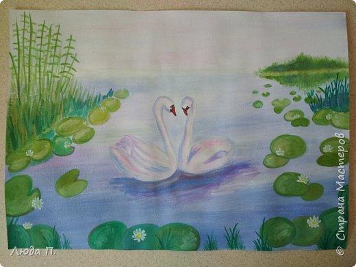 Здравствуйте, попробовала свои силы в рисовании, спасибо Ольге Уралочки и Наталье Яковлевой за мастер классы и возможность поучится! фото 2