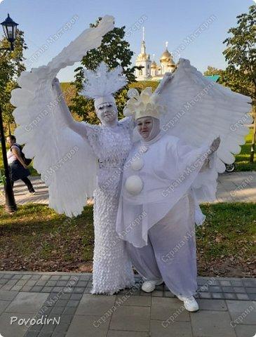 """Вчера, 31 сентября, отмечалось 865-летие города Дмитрова! Нашим Домом культуры было создано несколько образов для аллеи """"оживших статуй"""".  фото 14"""