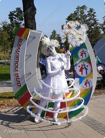 """Вчера, 31 сентября, отмечалось 865-летие города Дмитрова! Нашим Домом культуры было создано несколько образов для аллеи """"оживших статуй"""".  фото 18"""