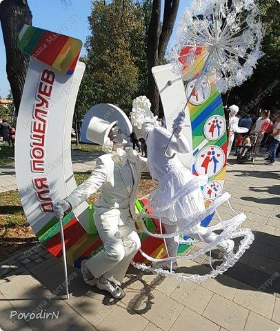"""Вчера, 31 сентября, отмечалось 865-летие города Дмитрова! Нашим Домом культуры было создано несколько образов для аллеи """"оживших статуй"""".  фото 19"""