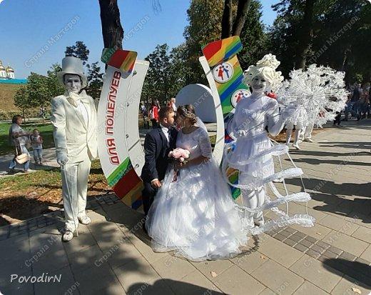 """Вчера, 31 сентября, отмечалось 865-летие города Дмитрова! Нашим Домом культуры было создано несколько образов для аллеи """"оживших статуй"""".  фото 20"""