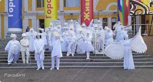 """Вчера, 31 сентября, отмечалось 865-летие города Дмитрова! Нашим Домом культуры было создано несколько образов для аллеи """"оживших статуй"""".  фото 42"""