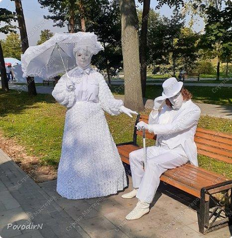 """Вчера, 31 сентября, отмечалось 865-летие города Дмитрова! Нашим Домом культуры было создано несколько образов для аллеи """"оживших статуй"""".  фото 28"""