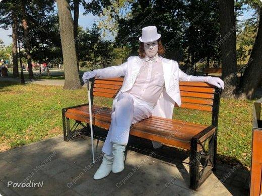 """Вчера, 31 сентября, отмечалось 865-летие города Дмитрова! Нашим Домом культуры было создано несколько образов для аллеи """"оживших статуй"""".  фото 30"""