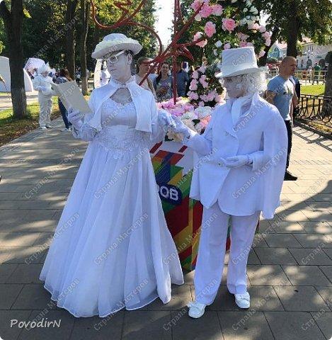 """Вчера, 31 сентября, отмечалось 865-летие города Дмитрова! Нашим Домом культуры было создано несколько образов для аллеи """"оживших статуй"""".  фото 33"""