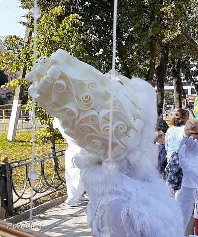 """Вчера, 31 сентября, отмечалось 865-летие города Дмитрова! Нашим Домом культуры было создано несколько образов для аллеи """"оживших статуй"""".  фото 7"""