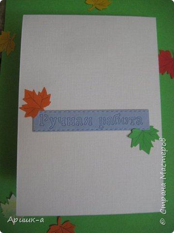 Приветствую всех, заглянувших ко мне! Поздравляю всех с началом учебного года!  Покажу открыточки, которые я сделала к 1 сентября. Эту сделала для учительницы. фото 4