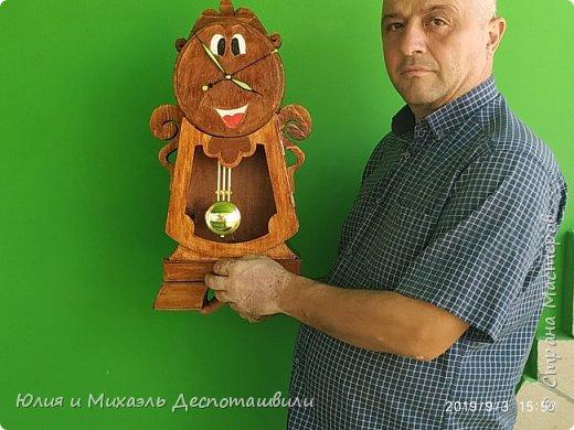 "Часы-шкатулка ""Когсворд"" из м/ф ""Красавица и чудовище"" фото 1"