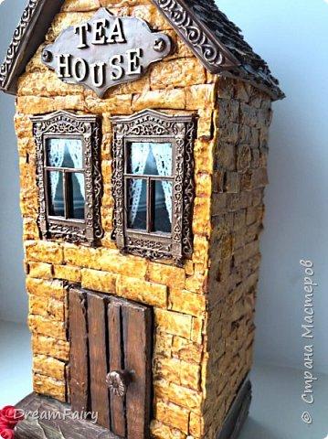 Миниатюрный домик из картона своими руками