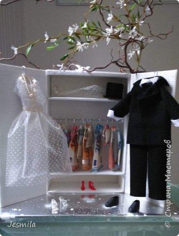 Шкафчик для жениха и невесты . Делала по просьбе дочери. Подарок для друзей. фото 1