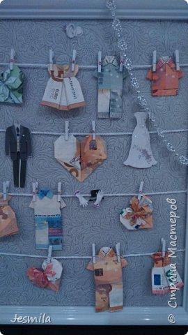 Шкафчик для жениха и невесты . Делала по просьбе дочери. Подарок для друзей. фото 4