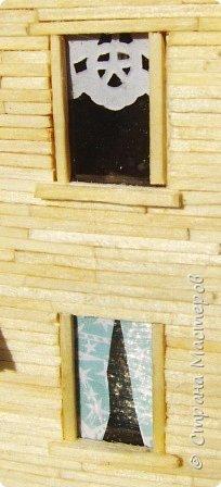 Загородный дом, 18х28х18 см, 145 коробков спичек. фото 3