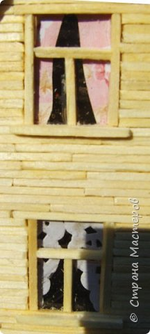 Загородный дом, 18х28х18 см, 145 коробков спичек. фото 7