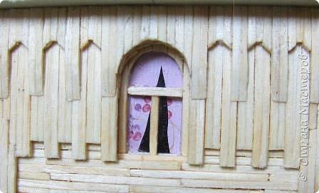Загородный дом, 18х28х18 см, 145 коробков спичек. фото 22