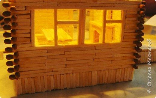 Загородный дом, 18х28х18 см, 145 коробков спичек. фото 17