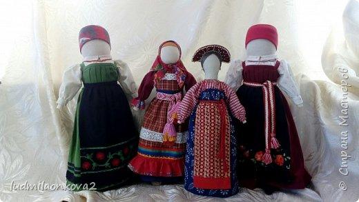 Куклы в костюмах моего края и района фото 1