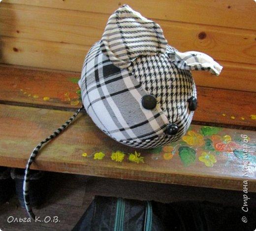 мышка-подушка и фетровые деды морозы