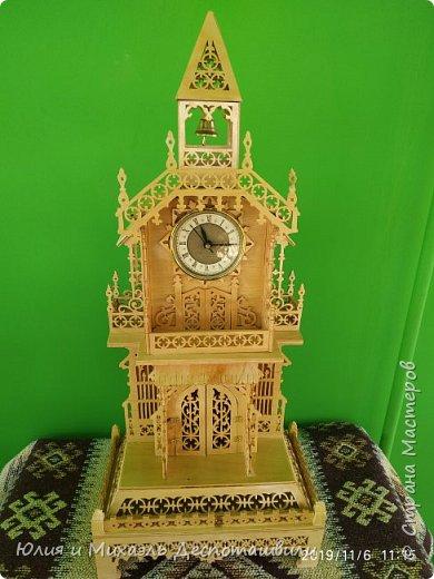 Новая работа Михаэля - викторианские часы