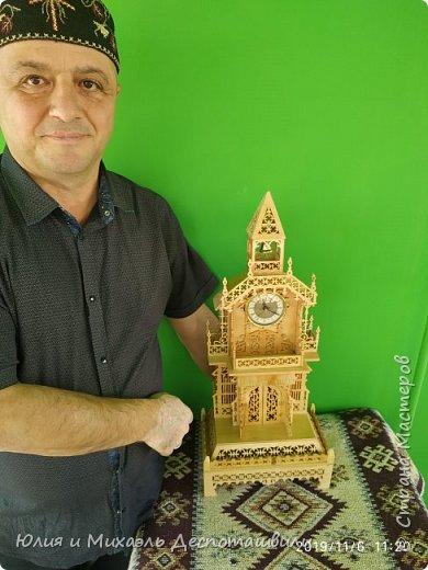 Новая работа Михаэля - викторианские часы фото 2