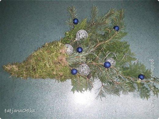 в воскресенье учились делать рождественский рог изобилия,,,вот такая красота теперь украшает мой дом фото 3