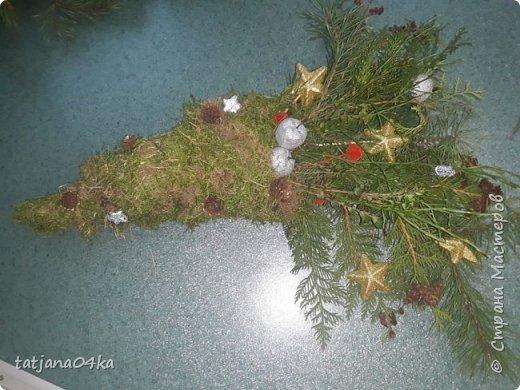 в воскресенье учились делать рождественский рог изобилия,,,вот такая красота теперь украшает мой дом фото 4