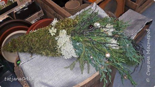 в воскресенье учились делать рождественский рог изобилия,,,вот такая красота теперь украшает мой дом фото 5