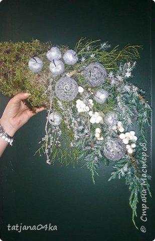 в воскресенье учились делать рождественский рог изобилия,,,вот такая красота теперь украшает мой дом фото 7