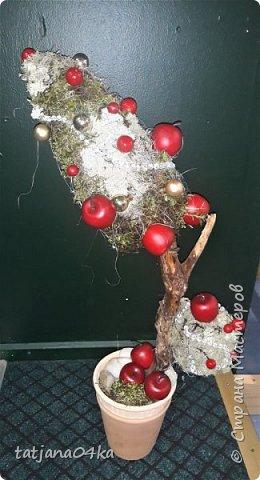 в воскресенье учились делать рождественский рог изобилия,,,вот такая красота теперь украшает мой дом фото 9