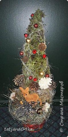 в воскресенье учились делать рождественский рог изобилия,,,вот такая красота теперь украшает мой дом фото 10