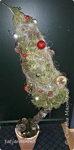в воскресенье учились делать рождественский рог изобилия,,,вот такая красота теперь украшает мой дом фото 13